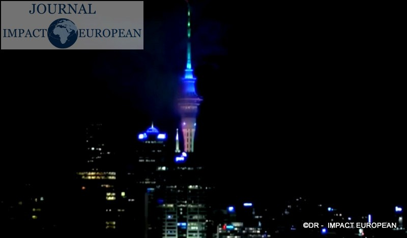 New Year's 2020: Auckland, New Zealand / Nouvel an 2020: Auckland, Nouvelle-Zélande