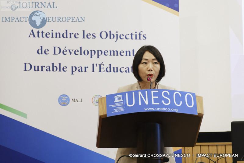 Conférence à l'UNESCO organisée par la Délégation Malienne auprès de l'UNESCO sur le thème «Atteindre les objectifs de développement durable par l'éducation»