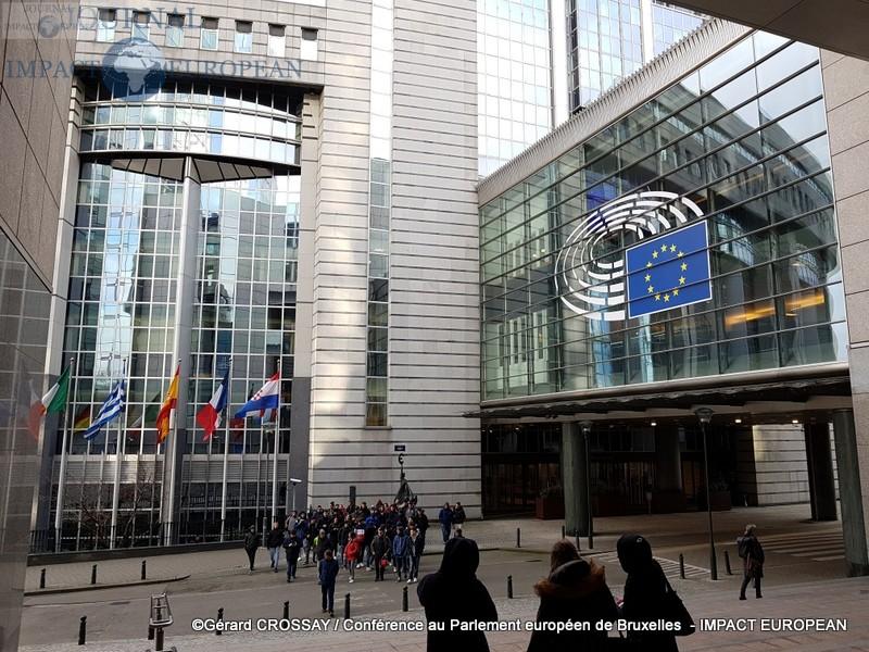 Conférence au Parlement européen de Bruxelles sur «L'intervention turque en Méditerranée : Causes, cibles et dangers»