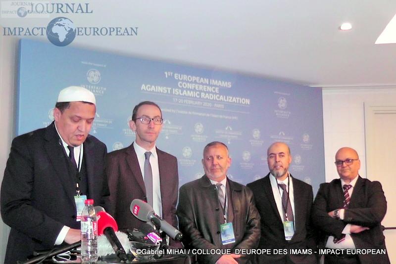 Les imams d'Europe réunis pendant trois jours pour lutter contre la radicalisation en Europe